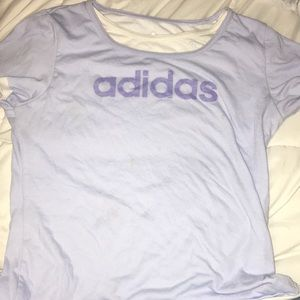ADIDAS light blue shirt